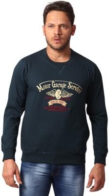 Club Fox Full Sleeve Embroidered Men's Sweatshirt