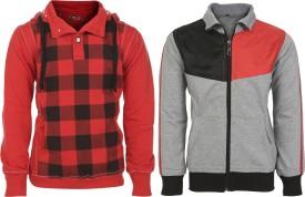 HAIG-DOT Full Sleeve Solid Boys Sweatshirt