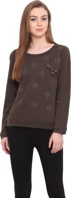 Porsorte Full Sleeve Embellished Women's Sweatshirt