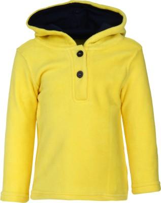 Nino Bambino Full Sleeve Solid Boy's Sweatshirt