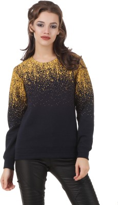 Texco Full Sleeve Printed Women's Sweatshirt at flipkart