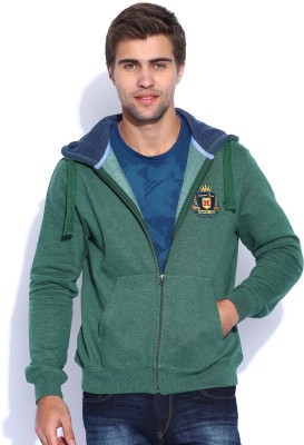 Harvard Full Sleeve Solid Men's Sweatshirt