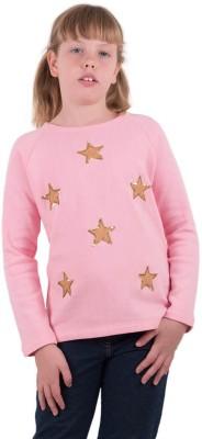 Aristot Full Sleeve Embellished Girl's Sweatshirt