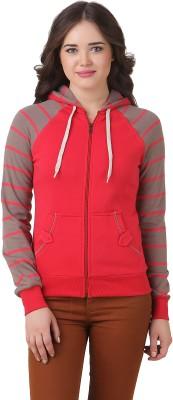 Goji Berries Full Sleeve Solid Women's Sweatshirt