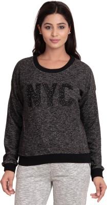 ATIVO Full Sleeve Applique Women's Sweatshirt