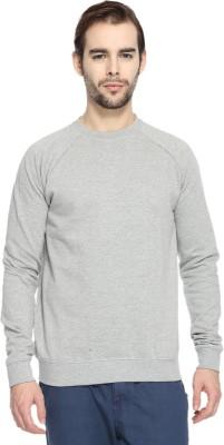 ADRO Full Sleeve Solid Men's Sweatshirt