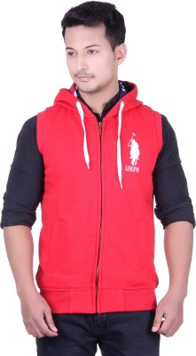 UNITED RUGBY POLO Sleeveless Embroidered Men's Sweatshirt