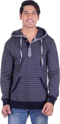 Deutz Full Sleeve Striped Men's Sweatshirt