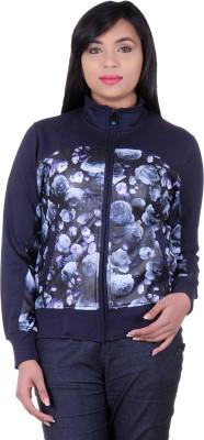 Absurd Full Sleeve Floral Print Women's Sweatshirt