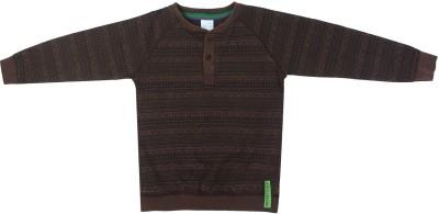 FS Mini Klub Full Sleeve Checkered Boy's Sweatshirt