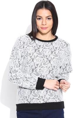 Sera Full Sleeve Printed Women's Sweatshirt