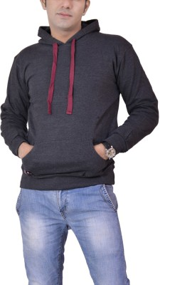 Ace Full Sleeve Solid Men's Sweatshirt