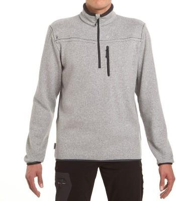 Quechua Full Sleeve Solid Men's Sweatshirt