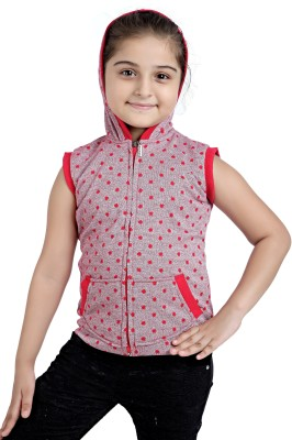 Just Clothes Sleeveless Solid Girl's Sweatshirt