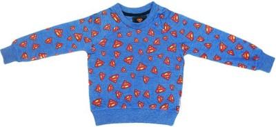 Superman Full Sleeve Printed Boy,s Sweatshirt