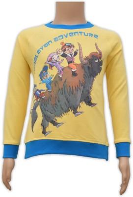 Chhota Bheem Full Sleeve Printed Boy's Sweatshirt