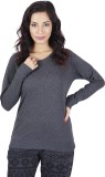 De Moza Full Sleeve Solid Women's Sweats...