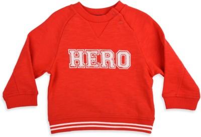 Mothercare Full Sleeve Solid Baby Boy's Sweatshirt