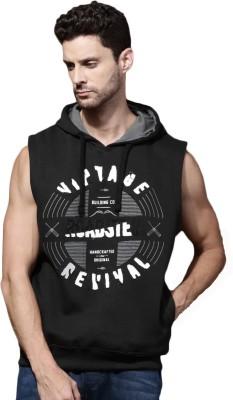 Roadster Sleeveless Printed Mens Sweatshirt