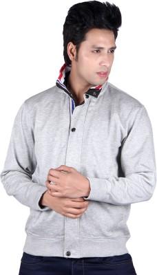 Vivid Bharti Full Sleeve Solid Men's Sweatshirt