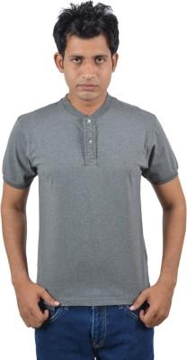 Josh Button Half Sleeve Solid Men's Sweatshirt