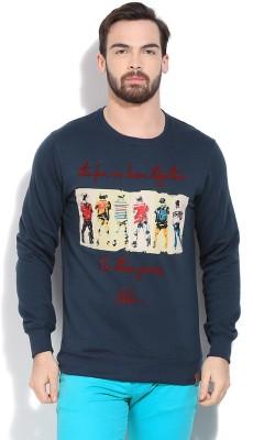 Riot Jeans Full Sleeve Printed Men's Sweatshirt