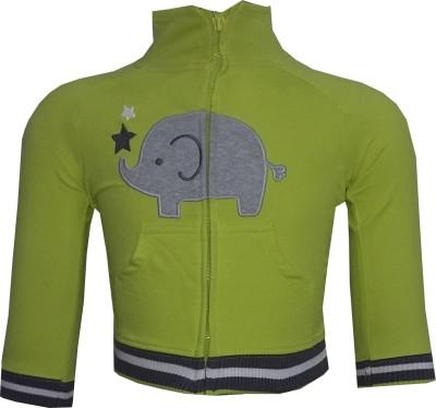 Tot N Teen Full Sleeve Animal Print Baby Boy's Sweatshirt