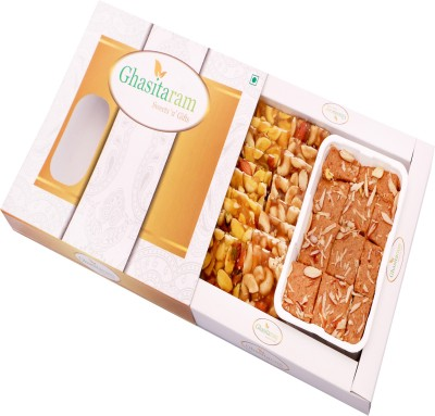 Ghasitaram Gifts Burfi(450 g, Box)