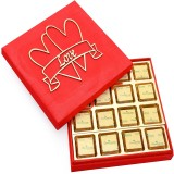 Ghasitaram Gifts Red Valentines Box with...