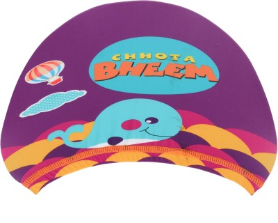 Chhota Bheem Bheem With Whales Swimming Cap