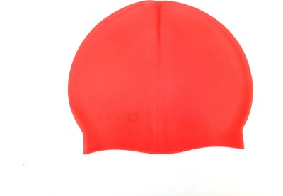 akkicollection swimming cap Swimming Cap(Red, Pack of 1)