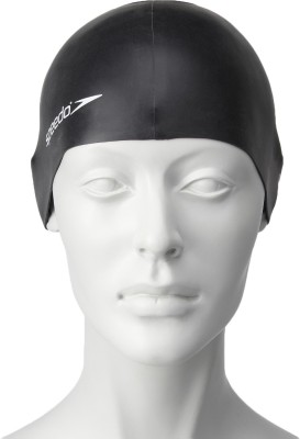 Speedo Plain Flat Swimming Cap
