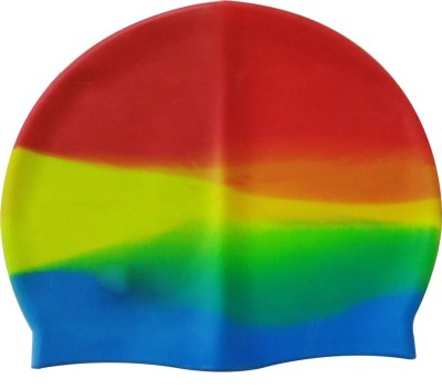 Toygully Mulricolor Silicone Swimming Cap