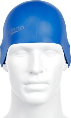 Speedo Plain Moulded Silicone Cap Swimming Cap