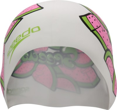 Speedo SPEEDO JUNIOR SLOGAN CAP Swimming Cap