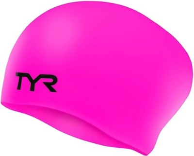 TYR LONG HAIR SILICON Swimming Cap