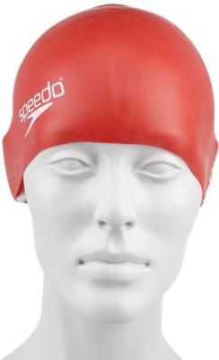 Speedo Junior Plain Moulded , 100% Silicone Swimming Cap