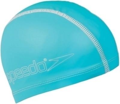 Speedo Pace Swimming Cap(Blue, Pack of 1)