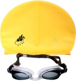 Zasmina swimming cap& goggles Swimming C...