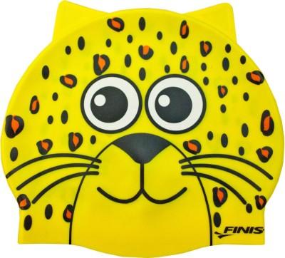 Finis Animal Head Leopard Swimming Cap