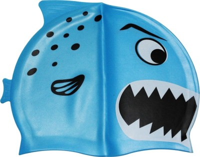 Toygully Shark Pattern Silicone Swimming Cap
