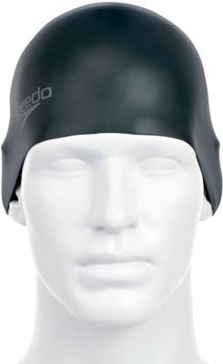 Speedo Plain Moulded, 100% silicone Swimming Cap