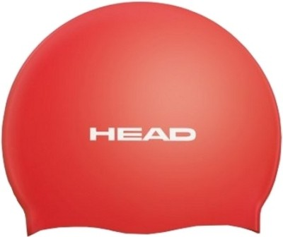 Head Silicone Flat Swimming Cap