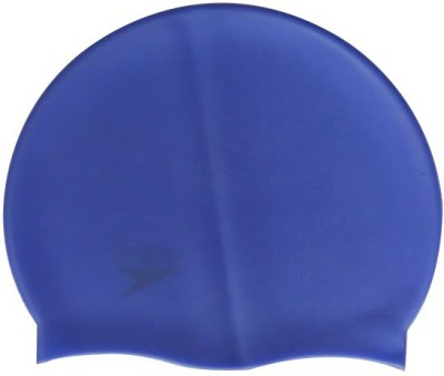 Plyr Sports Active Silicone Swimming Cap(Purple, Pack of 2)