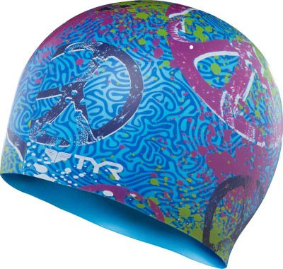 TYR Love and Happiness Swimming Cap