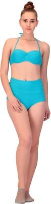 CHKOKKO Swimsuit Solid Women,s