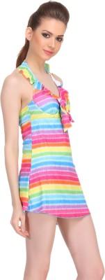 Clovia Striped Girl,s