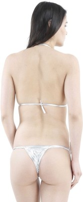 NIMRA FASHION Triangle Cup Bikini Solid Women,s