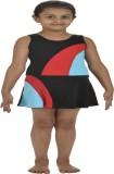 Attiva Solid Girls Swimsuit