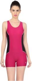 Veloz Legging style Solid Women's Swimsuit